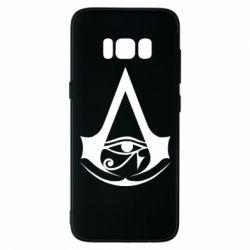 Чохол для Samsung S8 Assassin's Creed Origins logo