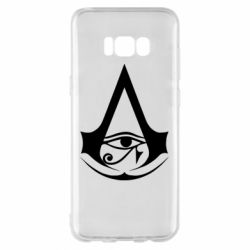 Чохол для Samsung S8+ Assassin's Creed Origins logo
