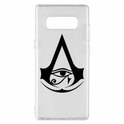 Чохол для Samsung Note 8 Assassin's Creed Origins logo