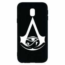 Чохол для Samsung J3 2017 Assassin's Creed Origins logo