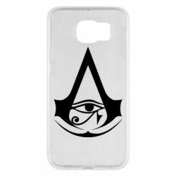 Чохол для Samsung S6 Assassin's Creed Origins logo