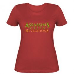 Женская футболка Assassin's Creed Revelations