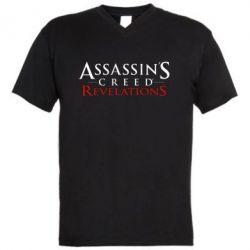 Мужская футболка  с V-образным вырезом Assassin's Creed Revelations - FatLine