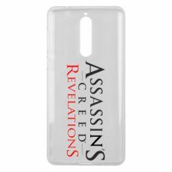 Чехол для Nokia 8 Assassin's Creed Revelations - FatLine