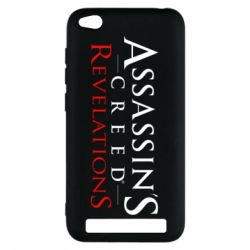Чехол для Xiaomi Redmi 5a Assassin's Creed Revelations - FatLine