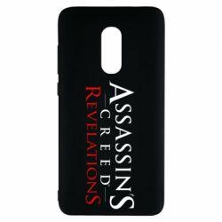 Чехол для Xiaomi Redmi Note 4 Assassin's Creed Revelations