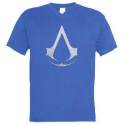 Чоловіча футболка з V-подібним вирізом Assassin's Creed