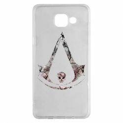 Чехол для Samsung A5 2016 Assassins Creed and skull