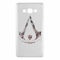 Чехол для Samsung A7 2015 Assassins Creed and skull