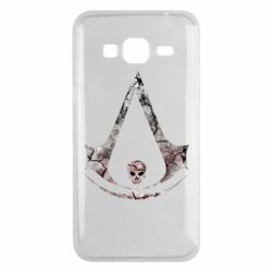 Чехол для Samsung J3 2016 Assassins Creed and skull