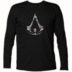Футболка с длинным рукавом Assassins Creed and skull