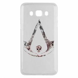 Чехол для Samsung J5 2016 Assassins Creed and skull