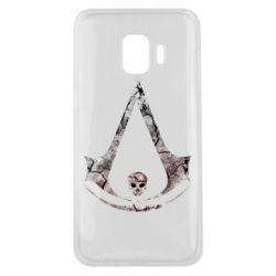 Чехол для Samsung J2 Core Assassins Creed and skull