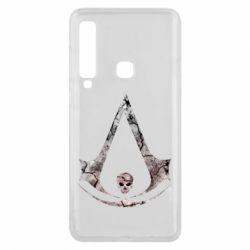 Чехол для Samsung A9 2018 Assassins Creed and skull