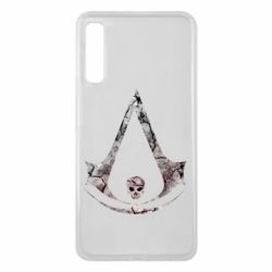 Чехол для Samsung A7 2018 Assassins Creed and skull