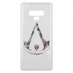 Чехол для Samsung Note 9 Assassins Creed and skull