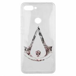 Чехол для Xiaomi Mi8 Lite Assassins Creed and skull