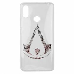 Чехол для Xiaomi Mi Max 3 Assassins Creed and skull