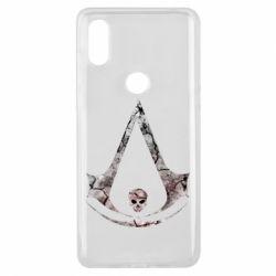 Чехол для Xiaomi Mi Mix 3 Assassins Creed and skull