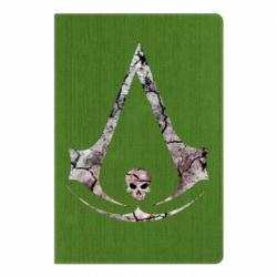 Блокнот А5 Assassins Creed and skull