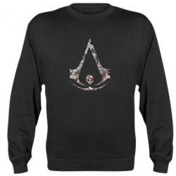 Реглан (свитшот) Assassins Creed and skull