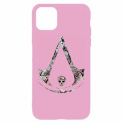 Чехол для iPhone 11 Assassins Creed and skull