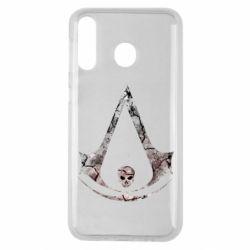 Чехол для Samsung M30 Assassins Creed and skull