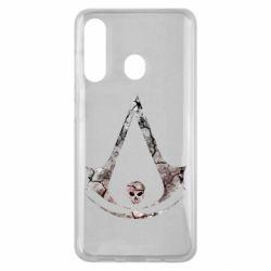 Чехол для Samsung M40 Assassins Creed and skull