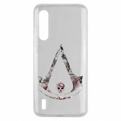 Чехол для Xiaomi Mi9 Lite Assassins Creed and skull