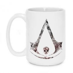 Купить Кружка 420ml Assassins Creed and skull, FatLine