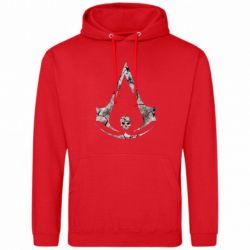 Мужская толстовка Assassins Creed and skull