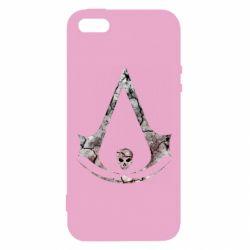 Чехол для iPhone5/5S/SE Assassins Creed and skull