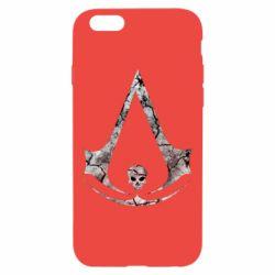 Чехол для iPhone 6/6S Assassins Creed and skull