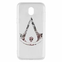 Чехол для Samsung J5 2017 Assassins Creed and skull