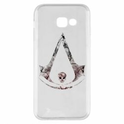 Чехол для Samsung A5 2017 Assassins Creed and skull
