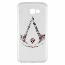 Чехол для Samsung A7 2017 Assassins Creed and skull