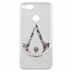 Чехол для Xiaomi Mi A1 Assassins Creed and skull