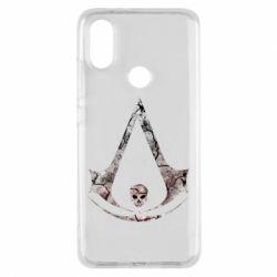 Чехол для Xiaomi Mi A2 Assassins Creed and skull