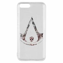 Чехол для Xiaomi Mi6 Assassins Creed and skull