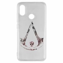 Чехол для Xiaomi Mi8 Assassins Creed and skull