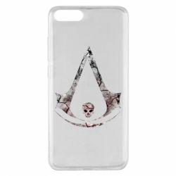 Чехол для Xiaomi Mi Note 3 Assassins Creed and skull