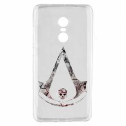 Чехол для Xiaomi Redmi Note 4 Assassins Creed and skull