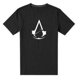 Чоловіча стрейчева футболка Assassins Creed Logo