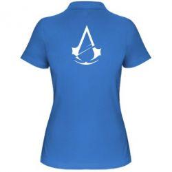 Жіноча футболка поло Assassins Creed Logo