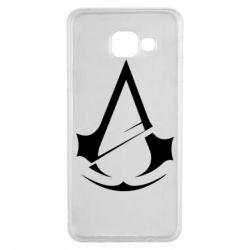 Чохол для Samsung A3 2016 Assassins Creed Logo