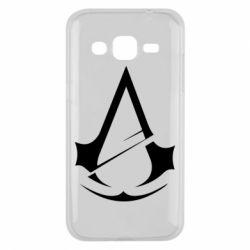 Чохол для Samsung J2 2015 Assassins Creed Logo