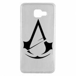 Чохол для Samsung A7 2016 Assassins Creed Logo
