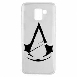 Чохол для Samsung J6 Assassins Creed Logo