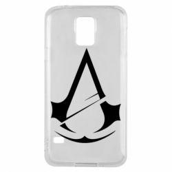 Чохол для Samsung S5 Assassins Creed Logo