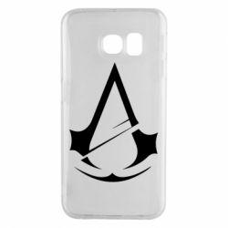 Чохол для Samsung S6 EDGE Assassins Creed Logo